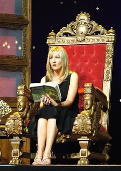 J.K. Rowling at Radio City Music Hall, 2006