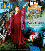 Dish Magazine cover for December, 2001.