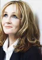 Photograph of JK Rowling